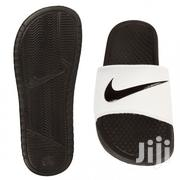 Nike Flip Flops Slides - Black/White | Shoes for sale in Greater Accra, East Legon (Okponglo)