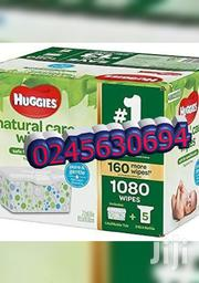 Huggies Baby Natural Wipes | Baby & Child Care for sale in Greater Accra, Adenta Municipal