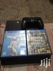 Playstation 4 Plus 3 Cd'S For Sale | Video Game Consoles for sale in Brong Ahafo, Sunyani Municipal