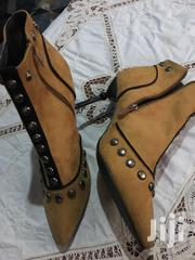 BROWN LEATHER HEEL SHOE | Shoes for sale in Greater Accra, Adenta Municipal