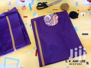Proud Purple Native With Gold Stripe by E. K. Amihere. | Clothing for sale in Western Region, Shama Ahanta East Metropolitan