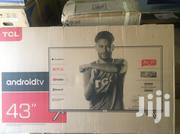 Ultra Slim Brand New Tcl 43 Smart Android Satellite Led Tv | TV & DVD Equipment for sale in Greater Accra, Adabraka