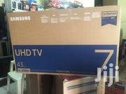 Ultra Slim Samsung 43 Uhd 4K Smart Satellite Led Tv | TV & DVD Equipment for sale in Greater Accra, Adabraka