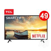 """Fresh In Box TCL 49""""Smart Android Netflix Satellite TV 