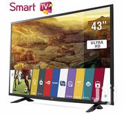 Good Picture Quality LG 43~Smart 4k UHD Satellite Led Tele | TV & DVD Equipment for sale in Greater Accra, Adabraka