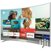 Tcl 55 Curved Smart Uhd 4K S2 Led Tv | TV & DVD Equipment for sale in Greater Accra, Adabraka