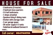 HOUSE FOR SALE AT TABORA   Houses & Apartments For Sale for sale in Greater Accra, Akweteyman