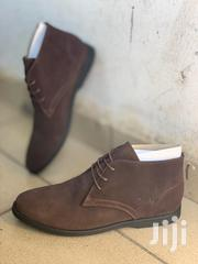 Clarks Suede Desert Boots-Coffee | Shoes for sale in Greater Accra, Ga East Municipal