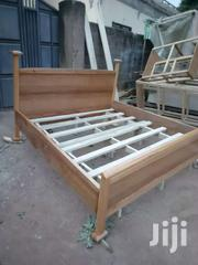 Queen Size Bed Natural Wood | Furniture for sale in Greater Accra, Adenta Municipal