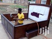 Queen Size Bed With Drawers | Furniture for sale in Greater Accra, Adenta Municipal