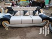 Emmanuel Leather Sofa | Furniture for sale in Greater Accra, Achimota
