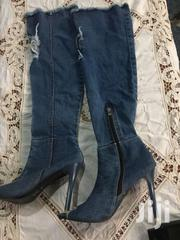BLUE JEANS HEEL SHOE | Shoes for sale in Greater Accra, Adenta Municipal