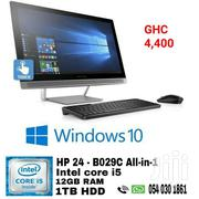 HP All-in-one Desktop Intel Core I5 Touch 12gb Ram | Laptops & Computers for sale in Central Region