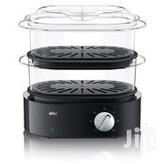 Braun FS5100 Identity Collection Food Steamer- 2 Litre Black | Kitchen Appliances for sale in Greater Accra, Achimota