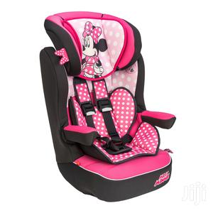 Imax Deluxe Disney Minnie Mouse Group 1-2-3 Car Seat Pink