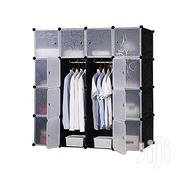 16 Cube Wardrobe - Black/White | Furniture for sale in Greater Accra, Achimota