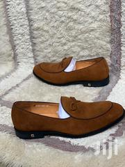 Formal Penny Suede Loafers-Brown | Shoes for sale in Greater Accra, Ga East Municipal