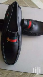 Black Leather Gucci Loafer Sz 43 | Shoes for sale in Greater Accra, Ga West Municipal