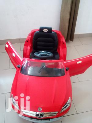 Red Mercedes Benz Drive Around Rechargeable Ac Fitted Uses Pendrive