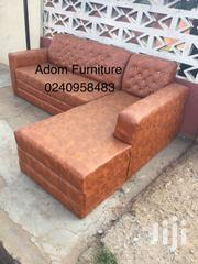 Quality Leather L Shape Sofa a Cool Price. | Furniture for sale in Greater Accra, Ashaiman Municipal