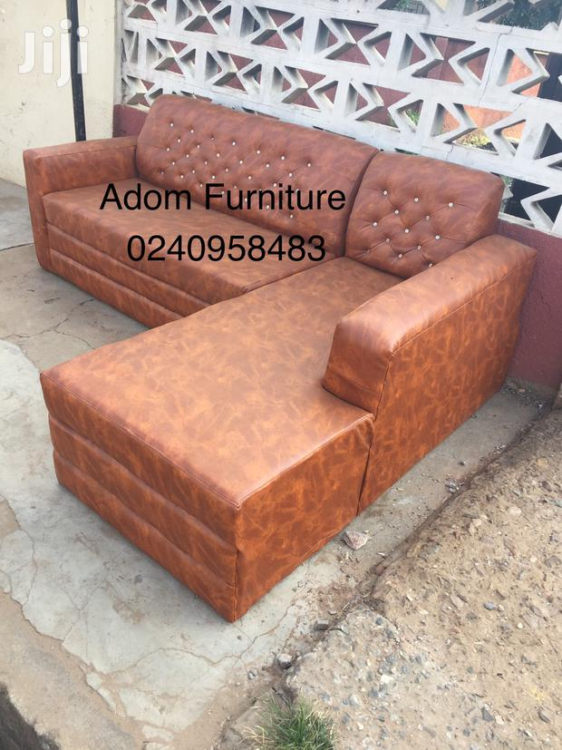 Quality Leather L Shape Sofa a Cool Price.
