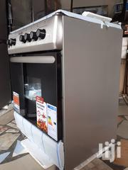 Stainless Steel Scanfrost 60x60 4 Burner Cooker With Oven And Grill | Restaurant & Catering Equipment for sale in Greater Accra, Dansoman