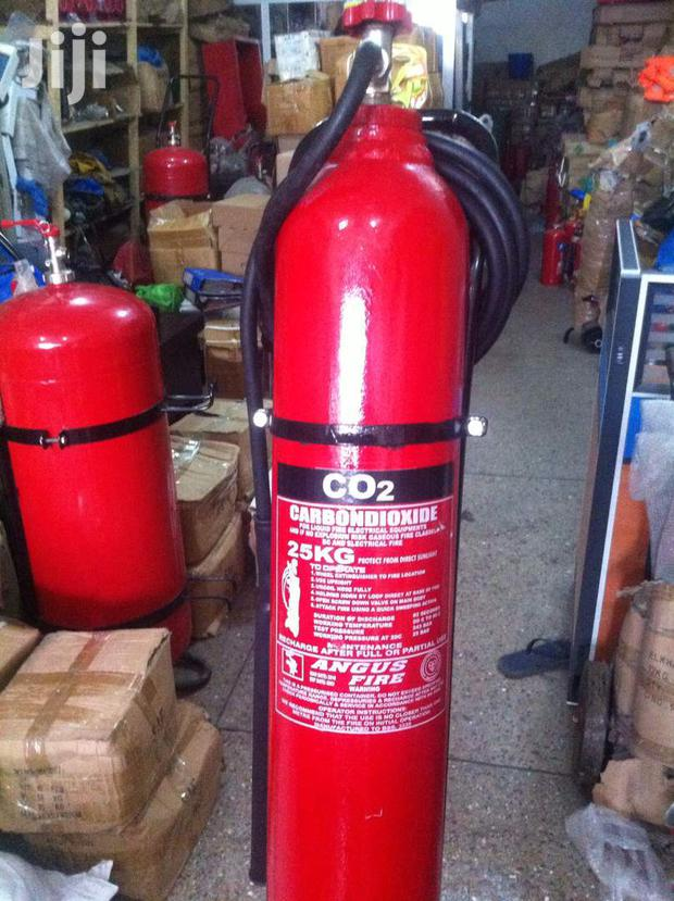 Fire Extinguisher 25 KG CO2