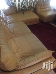 Leather Sofa Almost New | Furniture for sale in Greater Accra, Adenta Municipal