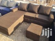 Brand New High Quality Italian L Shape Sofa | Furniture for sale in Greater Accra, Kanda Estate