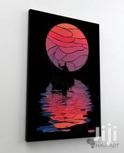 The Sunset. Digital Art Printed on Canvas | Arts & Crafts for sale in Greater Accra, Achimota