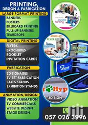 Printing I Design I 3D Sign Fabrication | Automotive Services for sale in Eastern Region, Asuogyaman