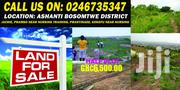 Land for Sale at Jachie Pramso Near the Nursing Training School. | Land & Plots For Sale for sale in Ashanti, Bosomtwe