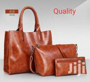 2020 Leather 3pieces Ladies Bag | Bags for sale in Greater Accra, Achimota