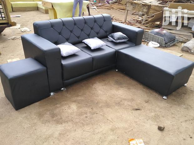 Archive: Emmanuel Leather Sofa