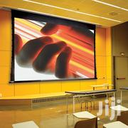 Electronic 240cm X 240cm Projector Screen | TV & DVD Equipment for sale in Greater Accra, Achimota