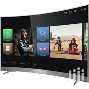 TCL LED55P3CUS Curved 4K Satellite Ultra HD Smart TV - 55"