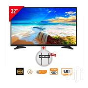 "E-life Digital Satellite HD TV - 32"" Black + Free Wall Bracket 