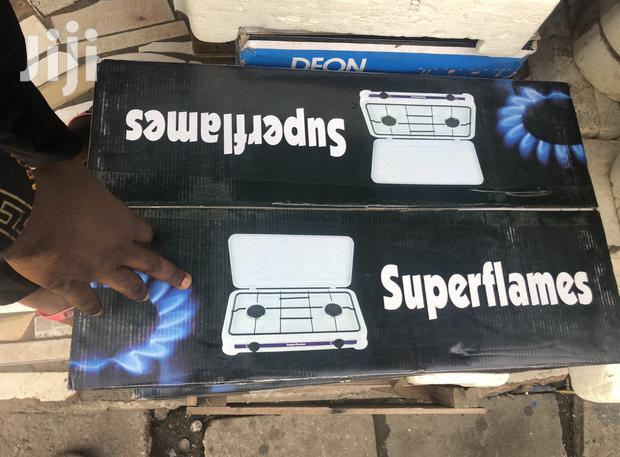 Superflames Two Burner Gas Stove New