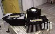Beaded Tissue Box | Arts & Crafts for sale in Greater Accra, East Legon