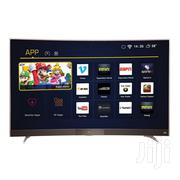 TCL 55 Inch Curved Ultra HD 4K LED Android Smart TV~55P3CUS | TV & DVD Equipment for sale in Greater Accra, Adabraka