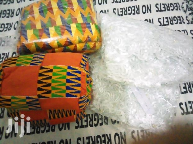 Archive: Kente And Lace For Sale