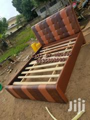 Quality Brown Leather Bed | Furniture for sale in Greater Accra, Nungua East