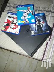 Ps4 Slim Plus One Controller And 3 Game Cd 500GIG | Video Game Consoles for sale in Western Region, Ahanta West