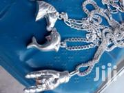 Machine Made From U.S.A Silver Chains With Locket | Watches for sale in Eastern Region, Asuogyaman