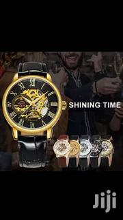 Mechanical Leather Watch | Watches for sale in Greater Accra, Dansoman