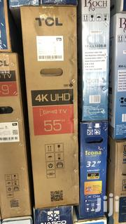 TCL 55 Curved Uhd Smart 4K TV Digital Satellite LED | TV & DVD Equipment for sale in Greater Accra, Accra Metropolitan