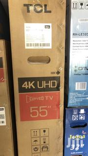 New TCL 55 Curved Smart Uhd TV 4K Digital Satellite LED | TV & DVD Equipment for sale in Greater Accra, Accra Metropolitan