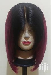 """Ombre Burgundy 12"""" Blunt Cut Wig Available   Hair Beauty for sale in Greater Accra, Ga West Municipal"""