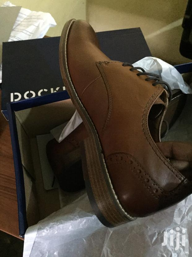 Archive: Dorkers Brown Leather Oxford Shoes