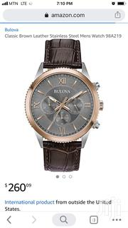 Bulova 42mm Leather Watch | Watches for sale in Greater Accra, Abelemkpe